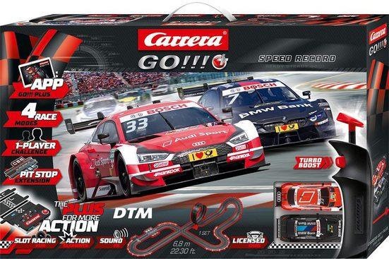 Carrera® Autorennbahn »Carrera® Go!!! Plus - DTM Speed Record« (Streckenlänge 6,8 Meter)