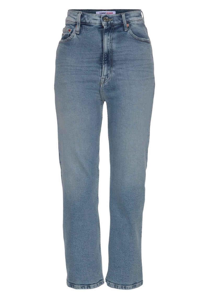 Tommy Jeans Ankle-Jeans »Harper HR Flare Ankle AE611 LBC« in modischer Flare-Optik mit Tommy Jeans Logo-Badge