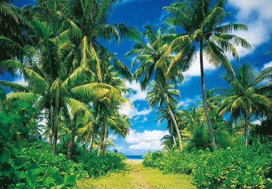 Fototapete »Island in the Sun«, 8-teilig, 366x254 cm