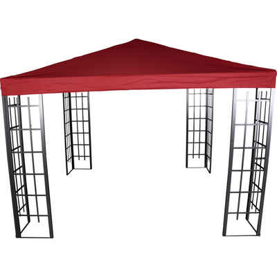 Lesli Living Pavillonersatzdach »Pavillondach Ersatzdach für Pavillon-Gestell wasserabweisend 3x3m PA Coated rot«