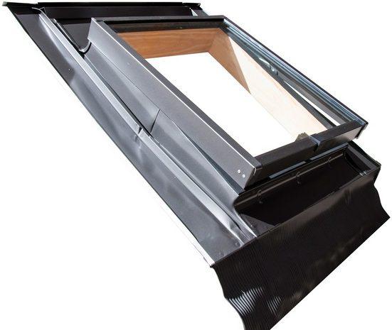 RORO Türen & Fenster Dachfenster »Typ WDLH47«, BxH: 46x75 cm, anthrazit
