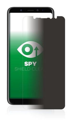 upscreen Schutzfolie »für BLU Vivo XL3 Plus«, Folie Schutzfolie Sichtschutz klar anti-spy
