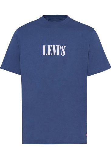 """Levi's® T-Shirt mit """"SERIF""""-Logoprint"""
