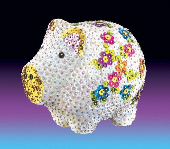 MAMMUT Spiel und Geschenk Kreativset »Sequin Art 3D Schwein«