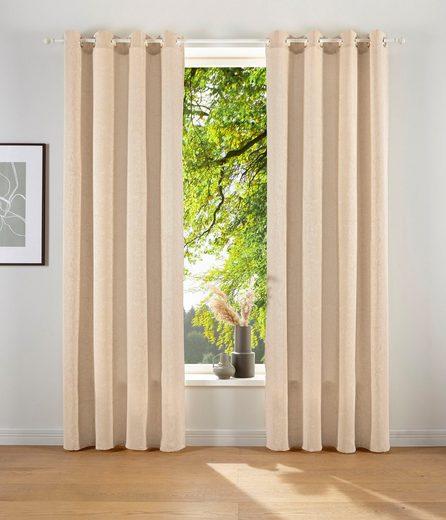 Vorhang »LESKA«, LeGer Home by Lena Gercke, Ösen (1 Stück)