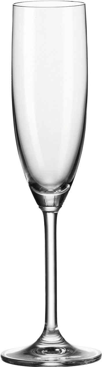 LEONARDO Sektglas »Daily«, Glas, 200 ml, 6-teilig