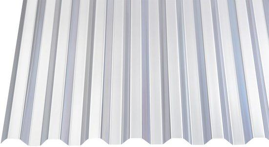GUTTA Wellplatte »GUTTAGLISS«, PVC klar, Trapez, BxL: 109x200 cm
