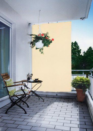 FLORACORD Balkonsichtschutz , BxH: 140x230 cm, elfenbein