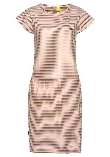 alife and kickin Jerseykleid »ShannaAK« süßes Sommerkleid mit Gummizug in der Taille