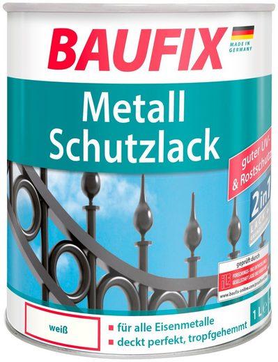 Baufix Metallschutzlack »Weiß«, 1 Liter, weiß