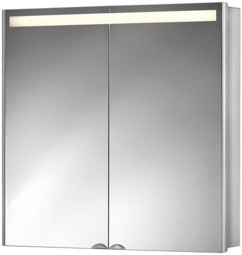 Jokey Spiegelschrank »Aluwave« Breite 66,5 cm, mit LED-Beleuchtung