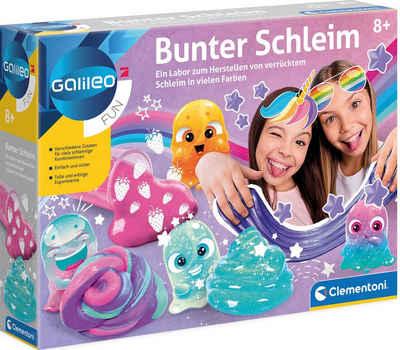 Clementoni® Experimentierkasten »Galileo - Bunter Schleim«, Made in Europe