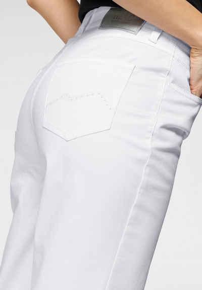 MAC 7/8-Jeans »Melanie 7/8« Stickerei und Nietenbesatz an den Gesäßtaschen