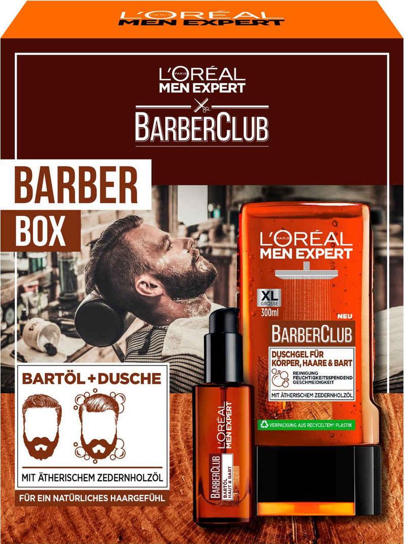 L'ORÉAL PARIS MEN EXPERT Bartpflege-Set »Barber Club Box Geschenkset«, 2-tlg.