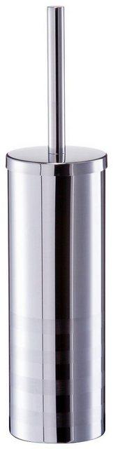 Zeller Present WC-Garnitur Edelstahl