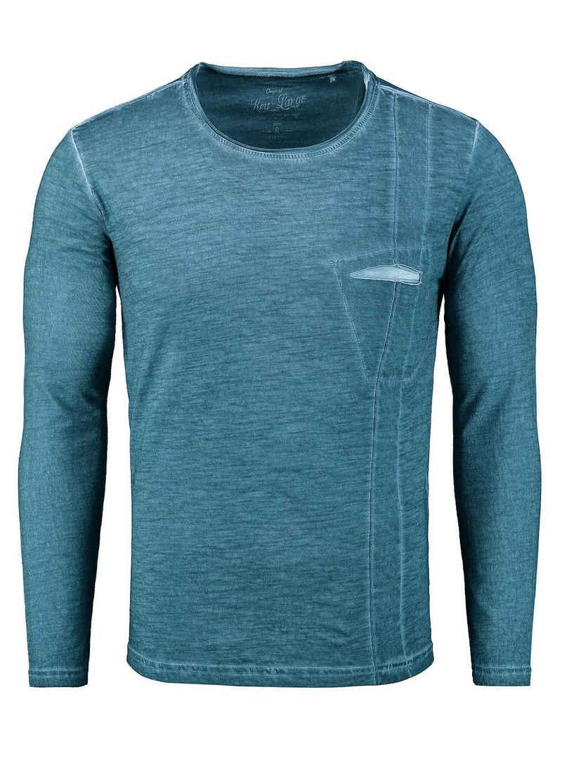 Key Largo Langarmshirt in sportlichem Design