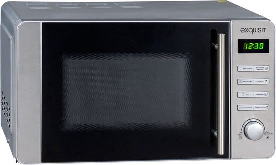 exquisit Mikrowelle MW 8020 H, Mikrowelle, Grill, Heißluft, 20 l