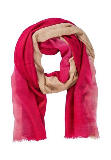 HALLHUBER Schal »Schal mit Dégradé-Muster«