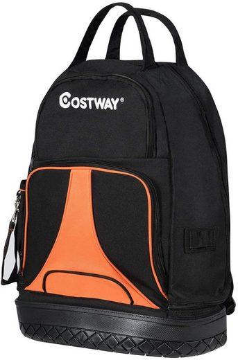 COSTWAY Werkzeugtasche »Montagetasche«, mit 33 Taschen