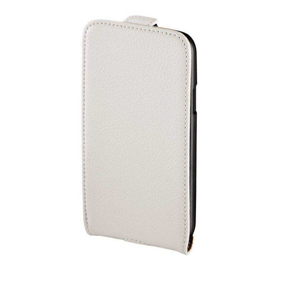 Hama Flap-Tasche Smart Case für Samsung Galaxy S 4 mini (LTE), Weiß in Weiß