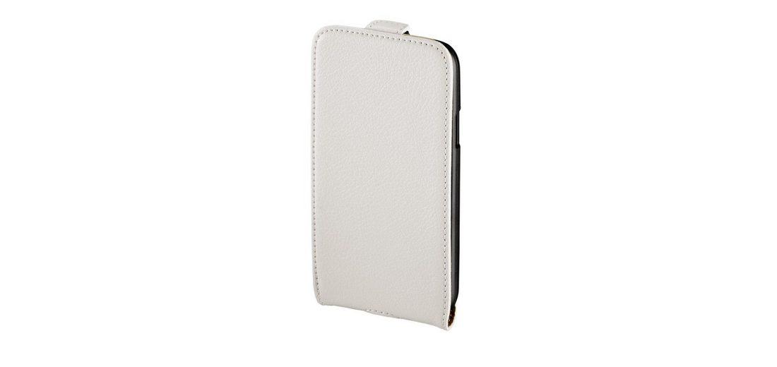 Hama Flap-Tasche Smart Case für Samsung Galaxy S 4 mini (LTE), Weiß