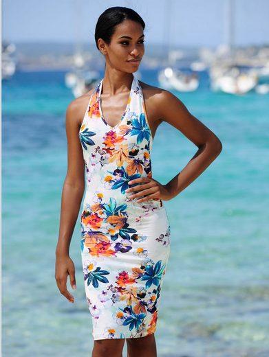 Alba Moda Strandkleid in Neckholderform