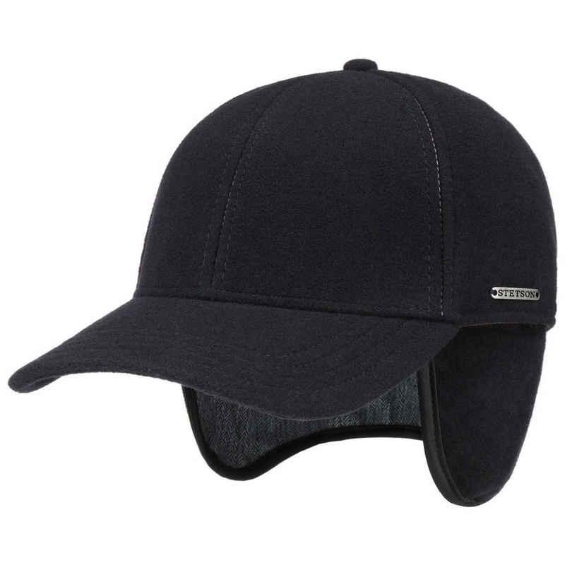 Stetson Baseball Cap (1-St) Baseballmütze Hinten geschlossen