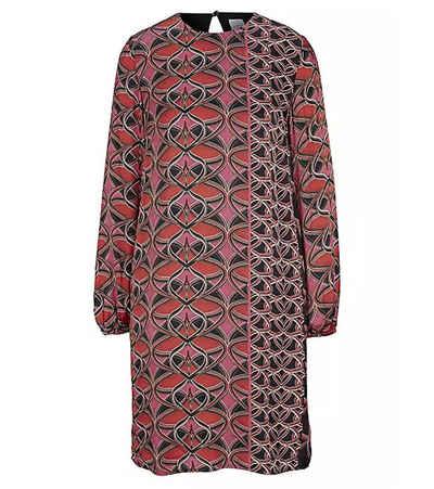 Heine Druckkleid »heine Druck-Kleid schönes Damen Sommer-Kleid Chiffon-Kleid mit modernem Print Bunt«