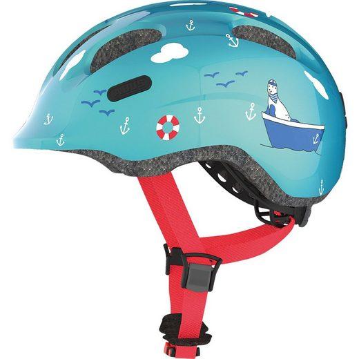 ABUS Kinderfahrradhelm »Fahrradhelm Smiley 2.0, turquoise sailor«