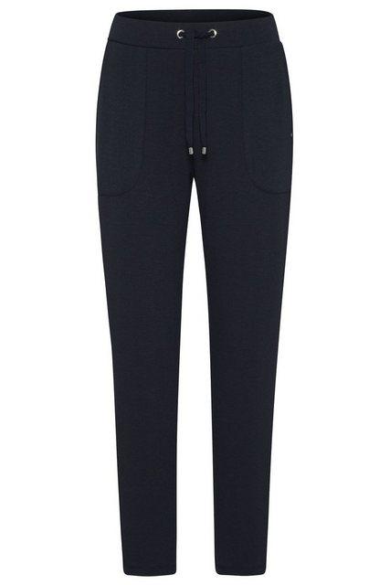 Hosen - bugatti 5 Pocket Hose mit breitem Bund › blau  - Onlineshop OTTO