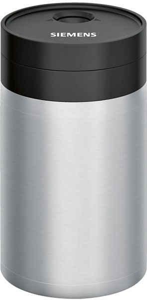 SIEMENS Isoliermilchbehälter TZ80009N, Zubehör für Siemens Kaffeevollautomaten EQ.7 Plus aromaSense, EQ.5 macchiato, EQ.5 macchiatoPlus, mit freshLock Deckel, 0,5 l für alle Kaffeevollautomaten der EQ. Reihe sowie Kaffeevollautomaten