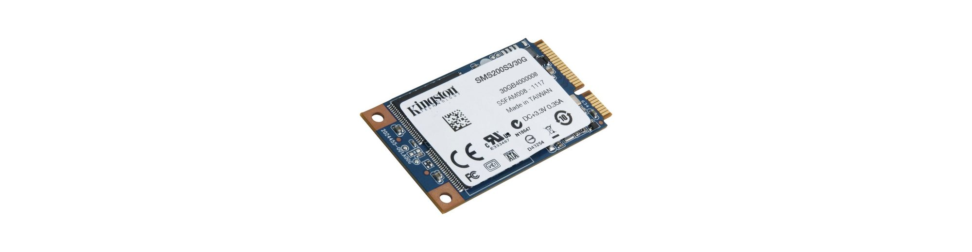 Kingston Solid State Drive »SSDNow mS200 SSD 30 GB«