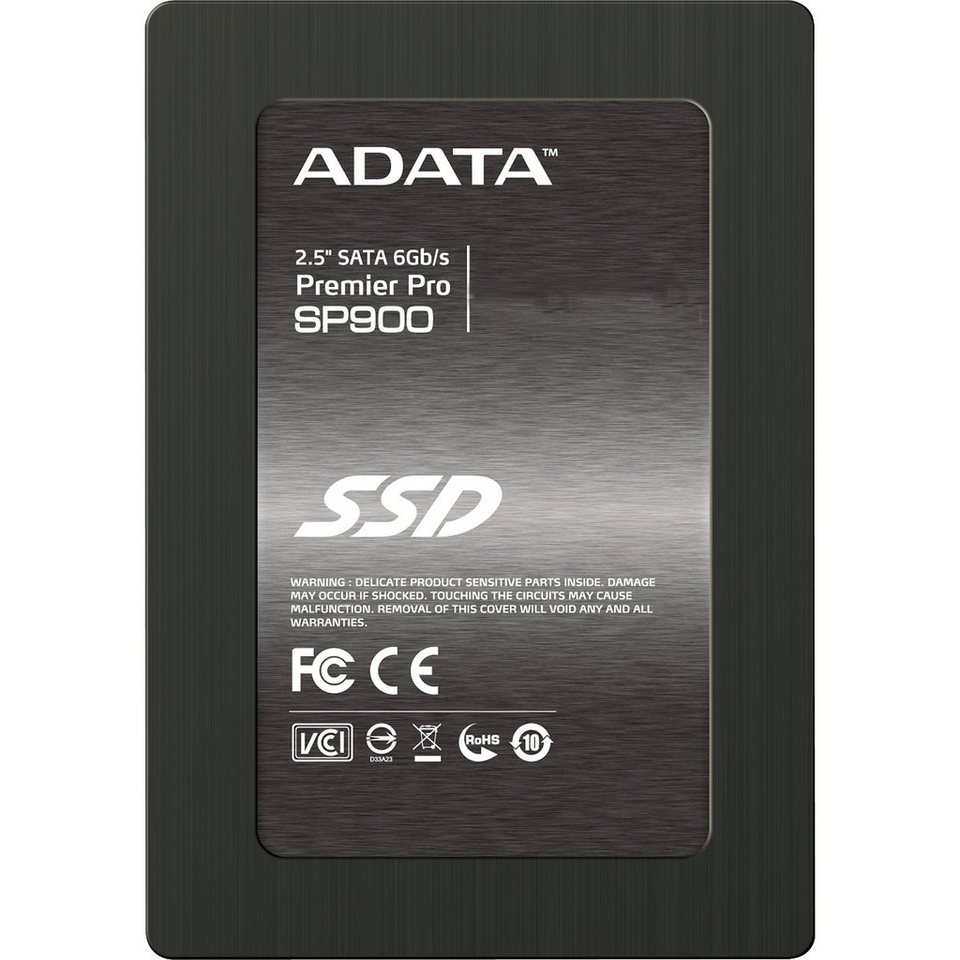 "ADATA Solid State Drive »Premier Pro SP900 2,5"" SSD 64 GB«"