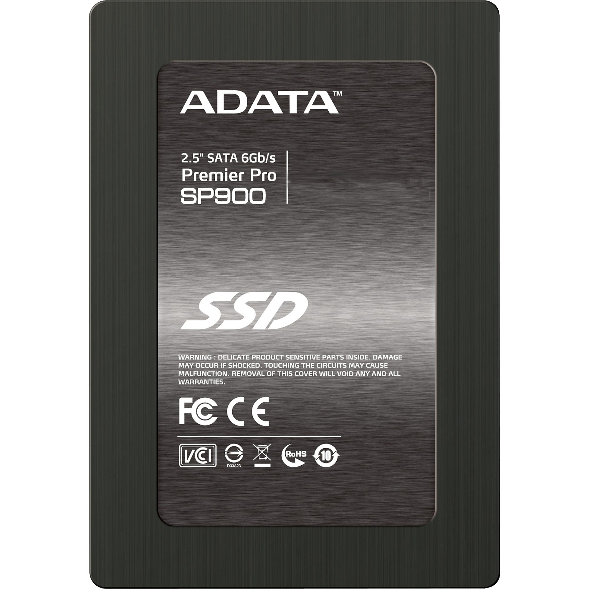 "ADATA Solid State Drive Premier Pro SP900 2,5"" SSD 256 GB"
