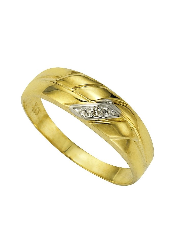 Vivance Ring mit Diamant in goldfarben
