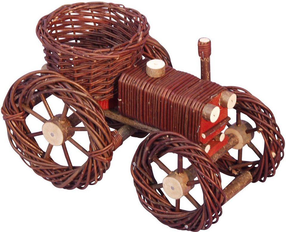 Blumenübertopf »Traktor«, Home affaire