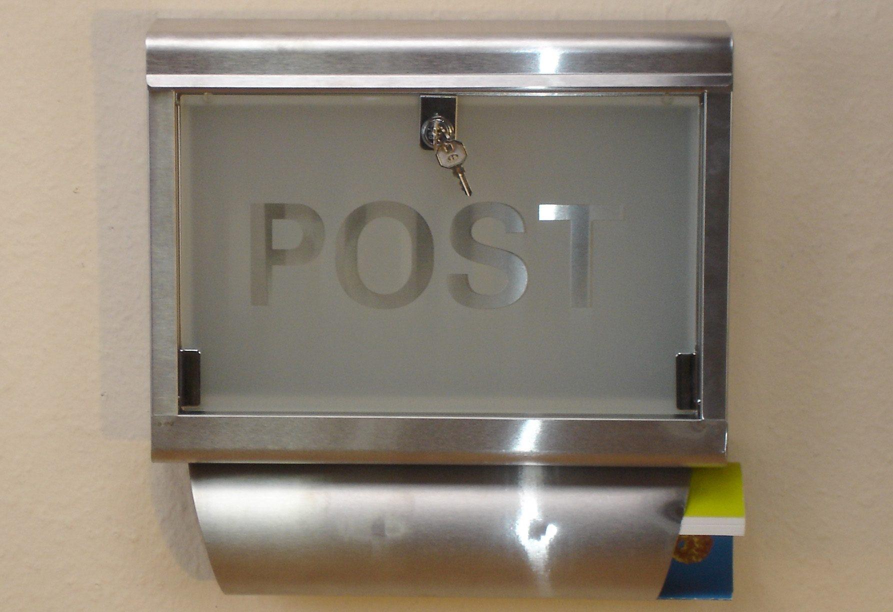 Edelstahl-Briefkasten, Home affaire