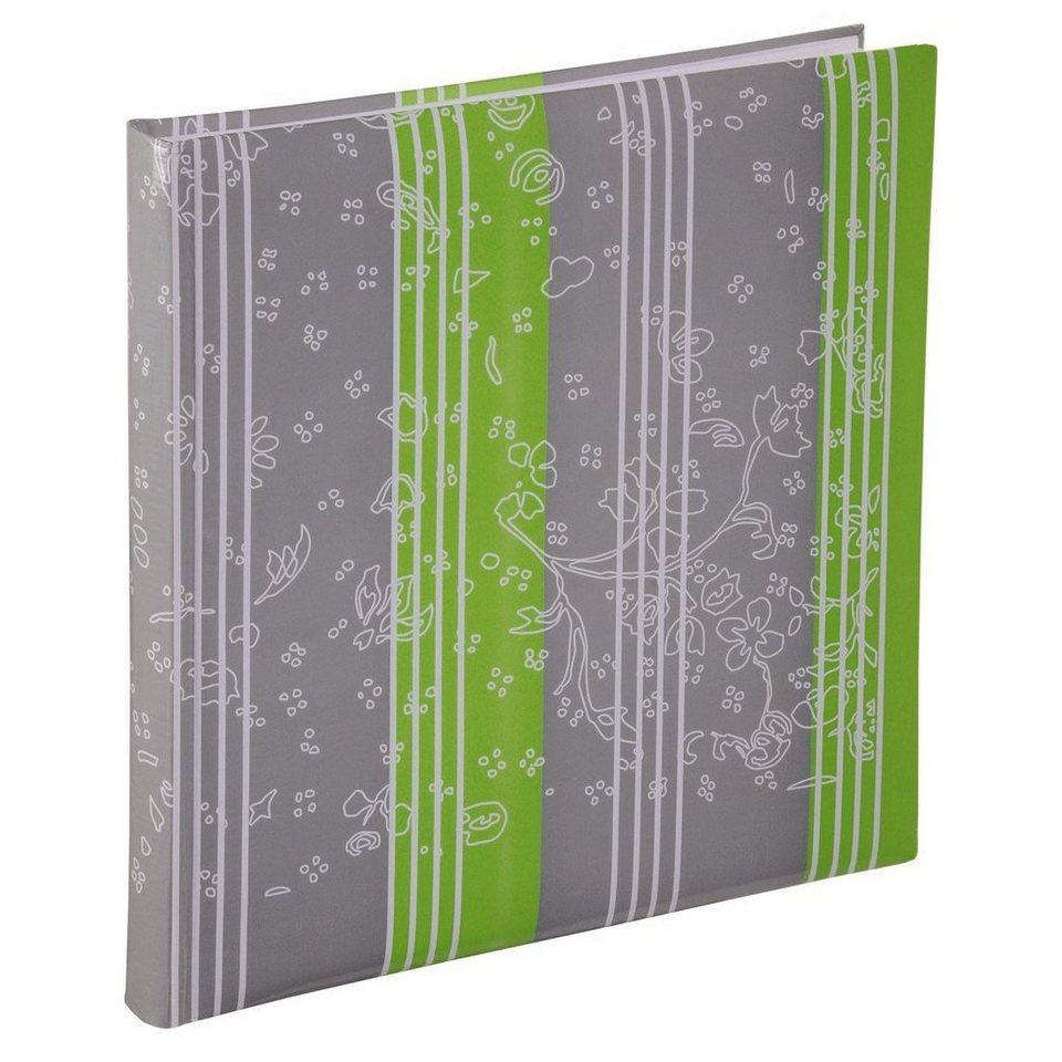 Hama XL-Album Curly, 30x30 cm, 60 weiße Seiten, Limette in Grün