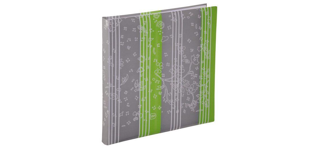 Hama XL-Album Curly, 30x30 cm, 60 weiße Seiten, Limette