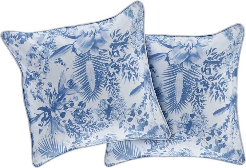 Kissenbezug »TOILEDEJOUY«, Guido Maria Kretschmer Home&Living (2 Stück), florale Muster