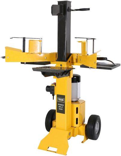 TEXAS Elektro-Holzspalter »Power Split 830V«, Spaltgutlänge: bis 50 cm