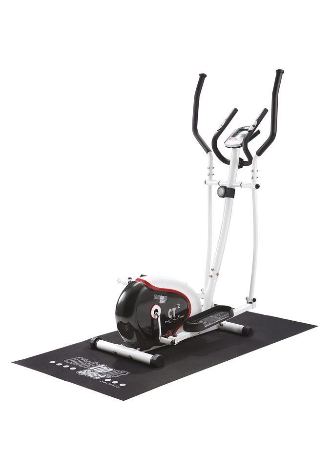 Christopeit Sport® Crosstrainer »CT 2« (Set, mit Unterlegmatte)