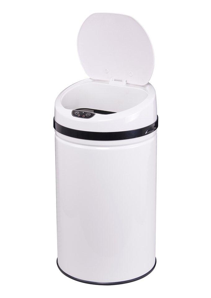 edelstahl abfalleimer echtwerk inox white mit infrarotsensor 30 liter online kaufen otto. Black Bedroom Furniture Sets. Home Design Ideas