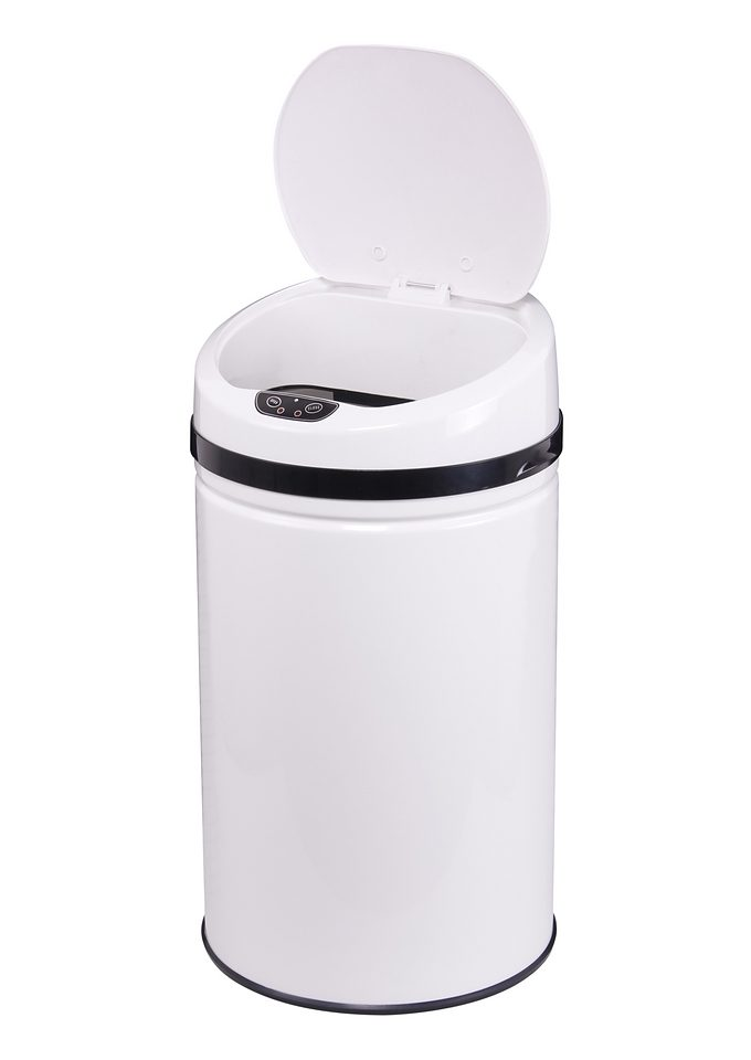 Edelstahl-Abfalleimer, ECHTWERK, »INOX WHITE«, mit Infrarotsensor, 30 Liter