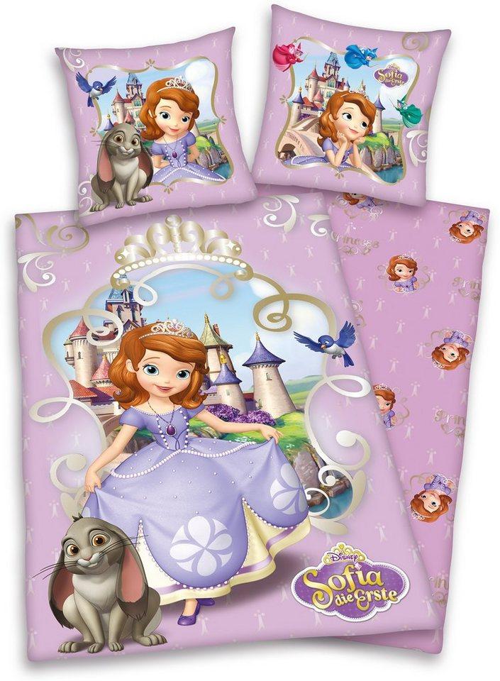 Wendebettwäsche, Disney, »Sofia die Erste«, in lila