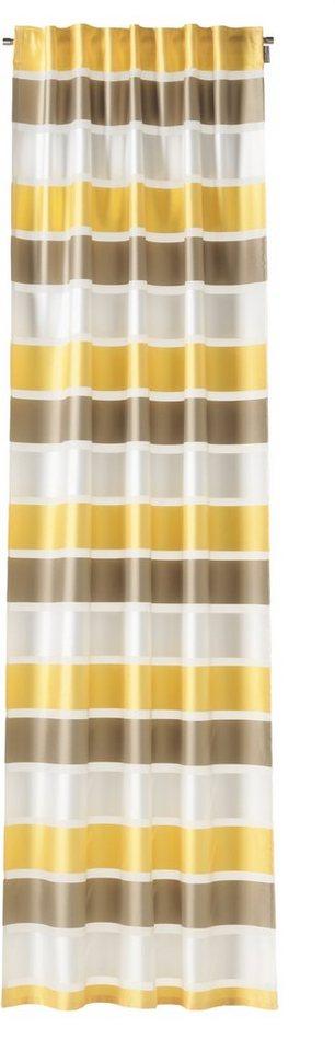 Vorhang, Schöner Wohnen, »Like«, mit verdeckten Schlaufen (1 Stück) in gelb