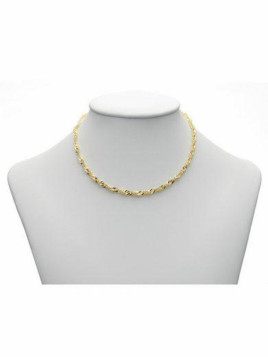 Adelia´s Goldkette »333 Gold Singapur Halskette 45 cm«, Singapur Kette Goldschmuck für Damen