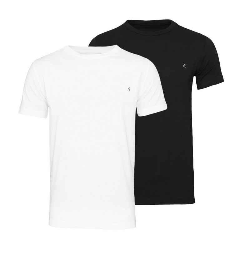Replay T-Shirt »Basic Rundhals« (2er-Pack)