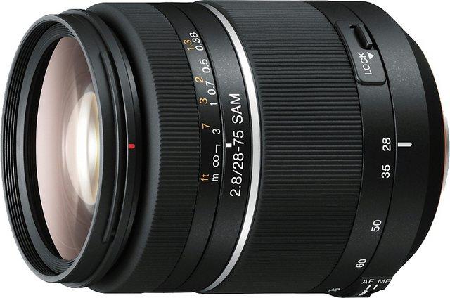 Objektive - Sony »SAL 2875« Weitwinkelobjektiv  - Onlineshop OTTO