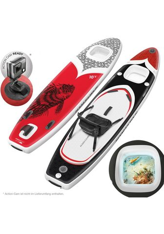 Sportstech Inflatable SUP-Board »WBX_REDFIREFISH«...